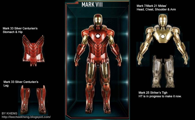 IRON MAN 3 - Recap des armures Mark_810