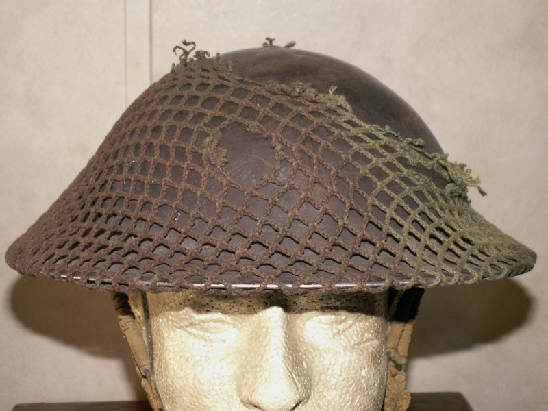 School me on Canadian Mk 2 helmet nets 00510