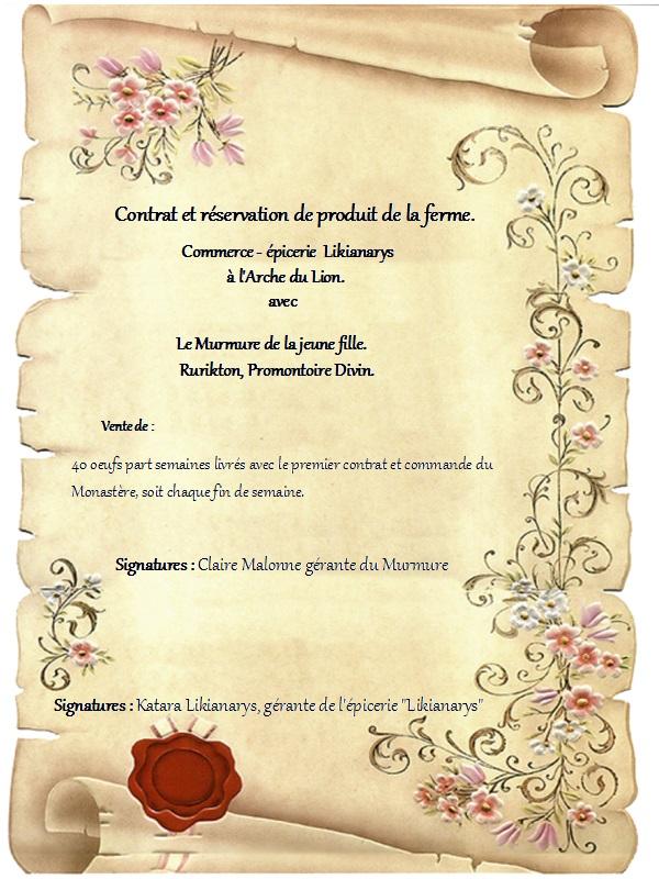 Contrats et Commandes Contra10
