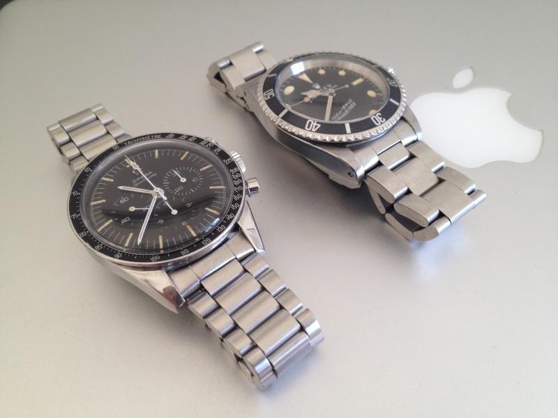 Deux montres de 1967.....Deux icônes (Speed & 5513 inside) Img_3210