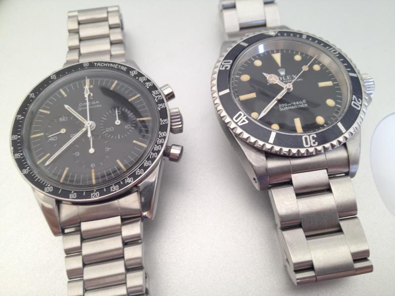 Deux montres de 1967.....Deux icônes (Speed & 5513 inside) Img_3211