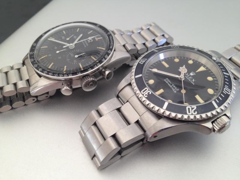 Deux montres de 1967.....Deux icônes (Speed & 5513 inside) Img_3212