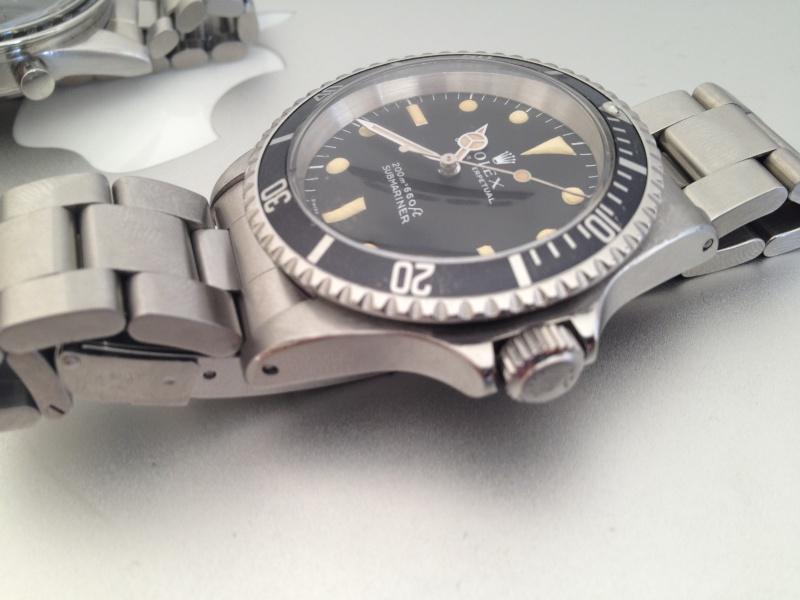 Deux montres de 1967.....Deux icônes (Speed & 5513 inside) Img_3216