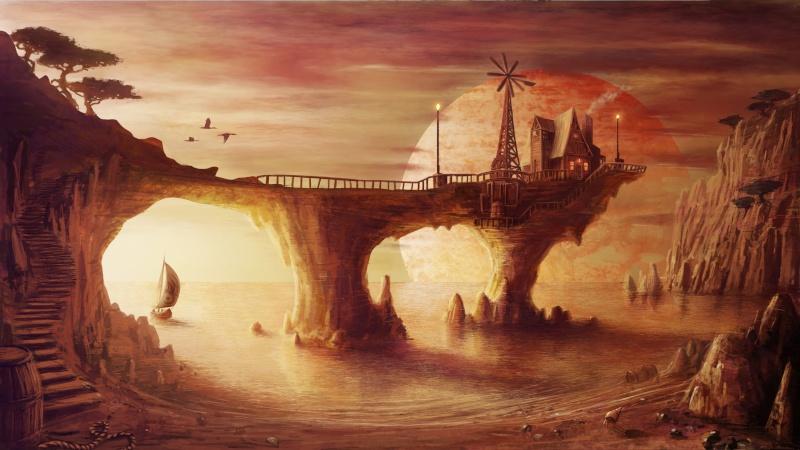Planète Zendra, demeure de Lyfea 51177010
