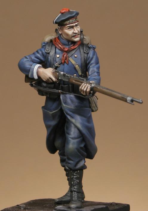 Métal Modèles - GG24 - Fusilier marin français, Dixmude 1914 Boxart10