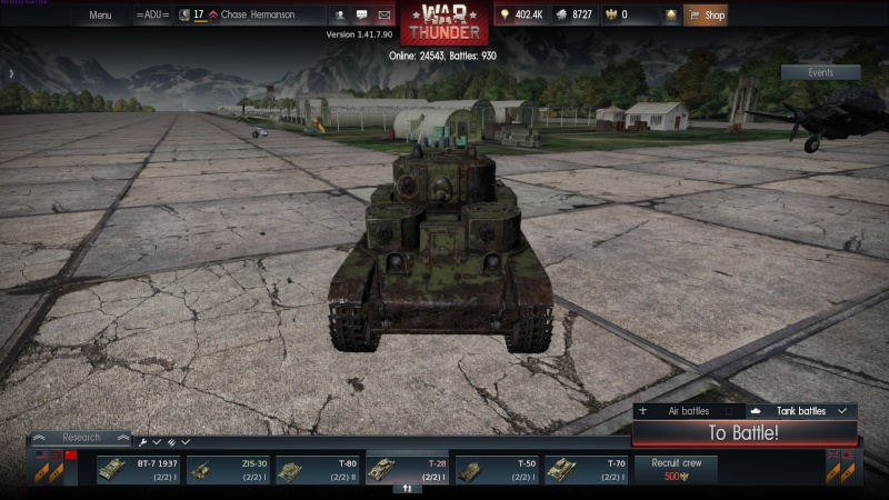 My war thunder hanger(USSR) 2014-014