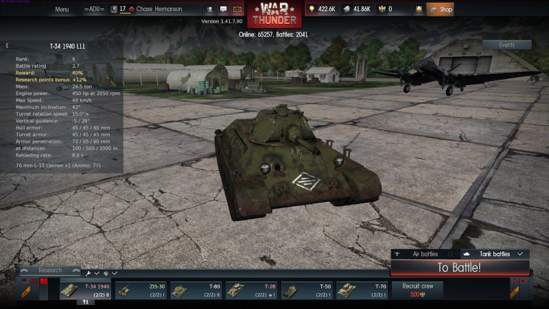 My war thunder hanger(USSR) 2014-017
