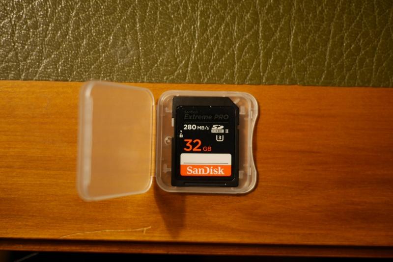 SanDisk Extreme Pro 32 Go SDHC II (3) 280 MB/s P1000810