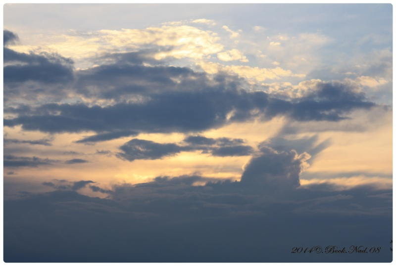 Les nuages Cadre317
