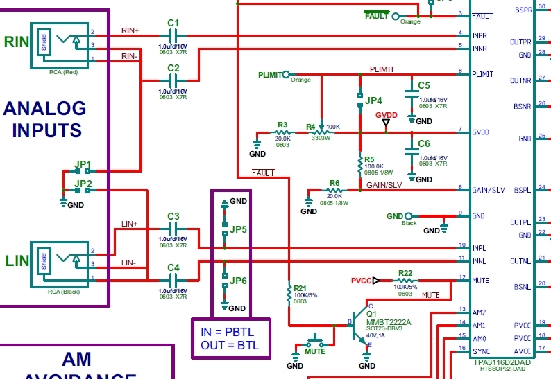 Scelta CHIP per autocostruzione amplificatore in classe D - Pagina 3 Tpa31110