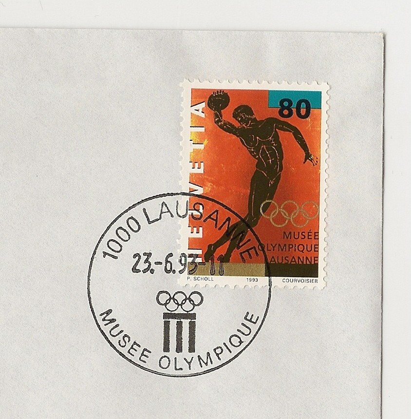 20th World Olympic Collectors Fair - Lausanne 2014 Cachet10