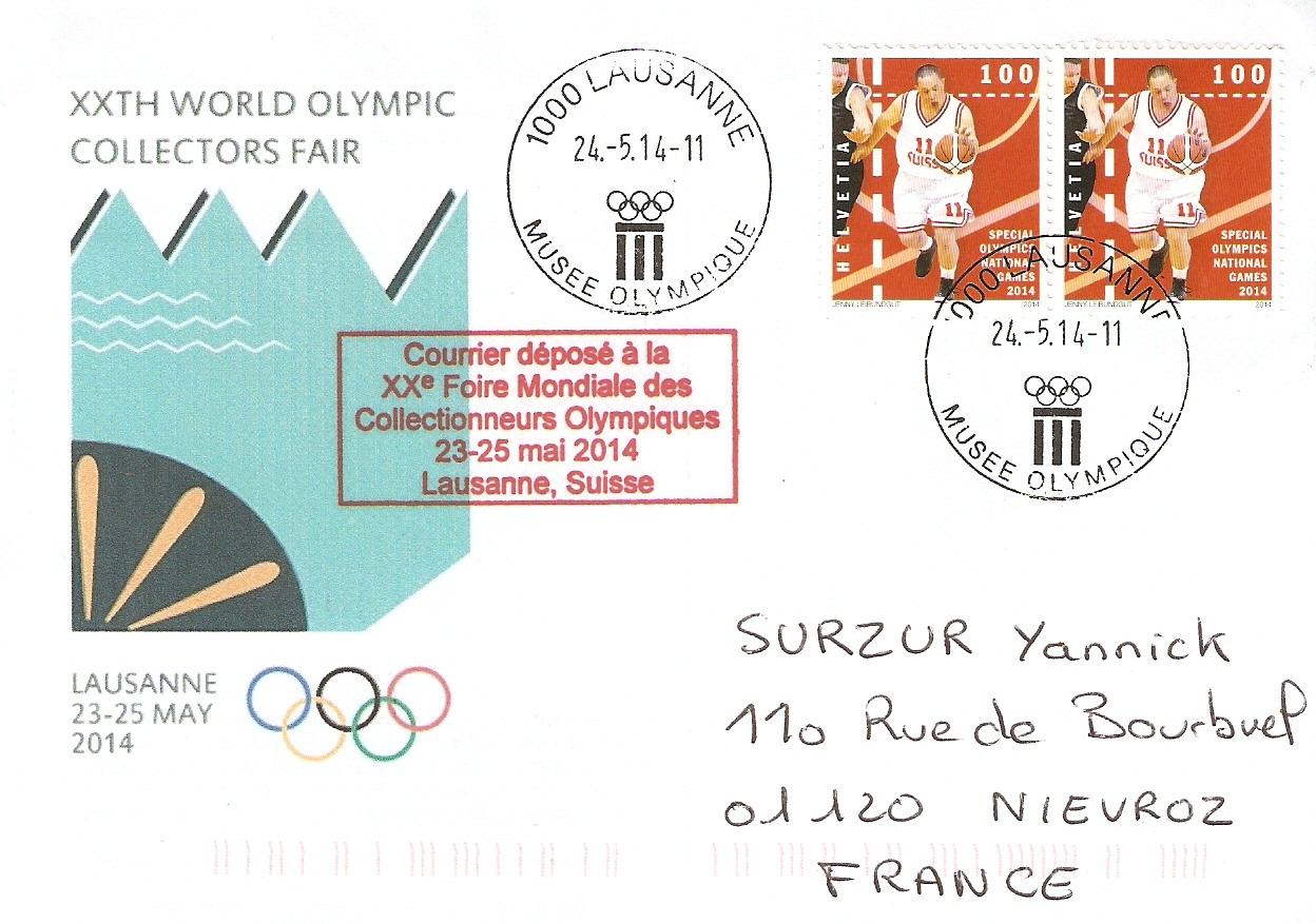 20th World Olympic Collectors Fair - Lausanne 2014 Fair_e10