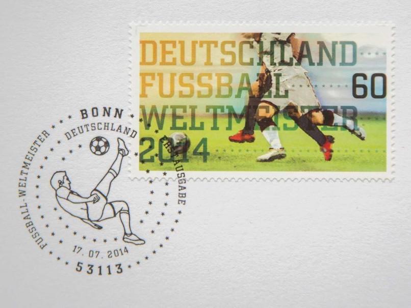Timbre (Allemagne) - Coupe du Monde de Football 2014 German10