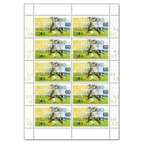 Timbre (Allemagne) - Coupe du Monde de Football 2014 German11