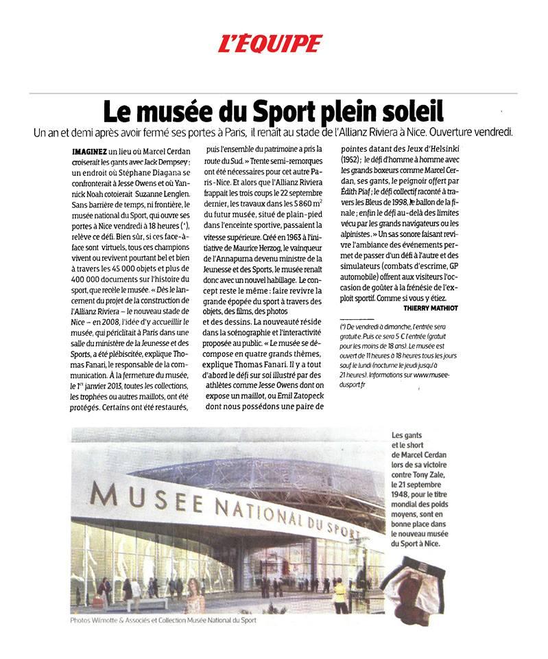 Musée National du Sport à Nice Museee10