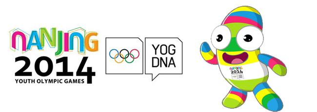 Nanjing 2014, Jeux Olympiques de la Jeunesse - Cachets Nanjin18