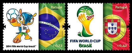 Timbres (Portugal) - Coupe du Monde de Football 2014 Porto010