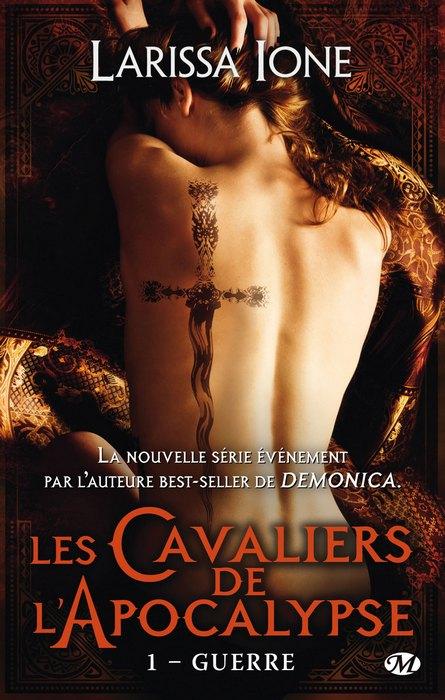 LES CAVALIERS DE L'APOCALYPSE (Tome 1) GUERRE de Larissa Ione 1407-a10