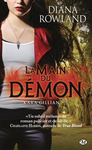 KARA GILLIAN (Tome 5) LA MAIN DU DÉMON de Diana Rowland Kara-g10