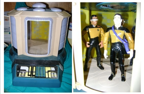 STAR TREK NEXT GENERATION PLAY SET  Lotto_12