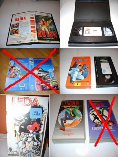 VENDO VHS  & DVD del MONDO DISNEY & ANIME GIAPPONESI Lotto_13
