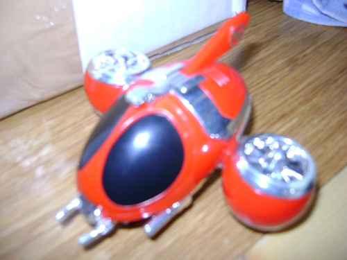 ROBOT VINTAGE LOOSE  VR TROOPERS e KIT di MONTAGGIO  Red_st10