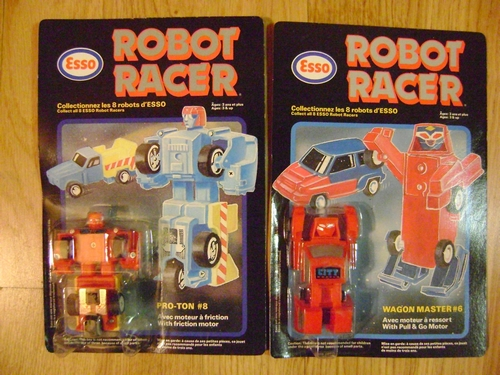 ROBOT in BOX VINTAGE : GETTER MACHINE BEAR - TRANSFORMER - ROBOT RACER ESSO MACHINE  Robot_10