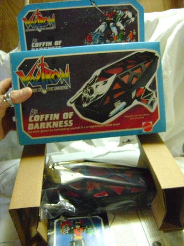 VOLTRON PANOSH :  COFFIN NERA MINT+ STARLIGHT Voltro18