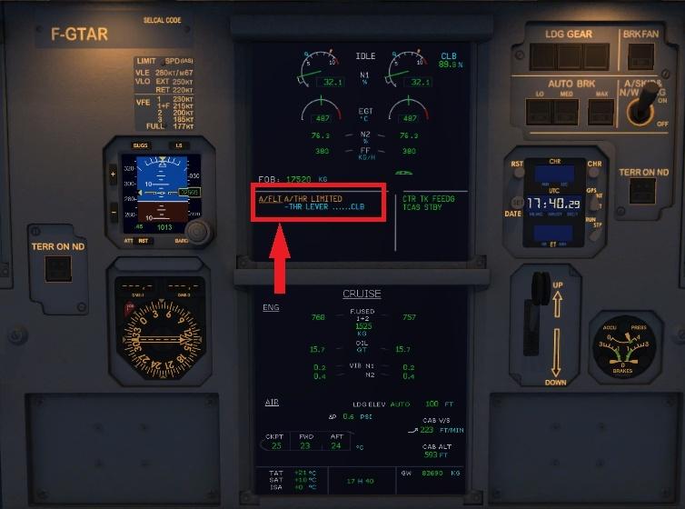 Aerosoft A319/320/321 - Plusieurs problèmes de commandes.. Flt10
