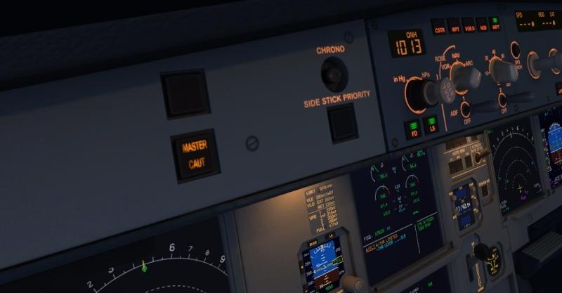 Aerosoft A319/320/321 - Plusieurs problèmes de commandes.. Master11