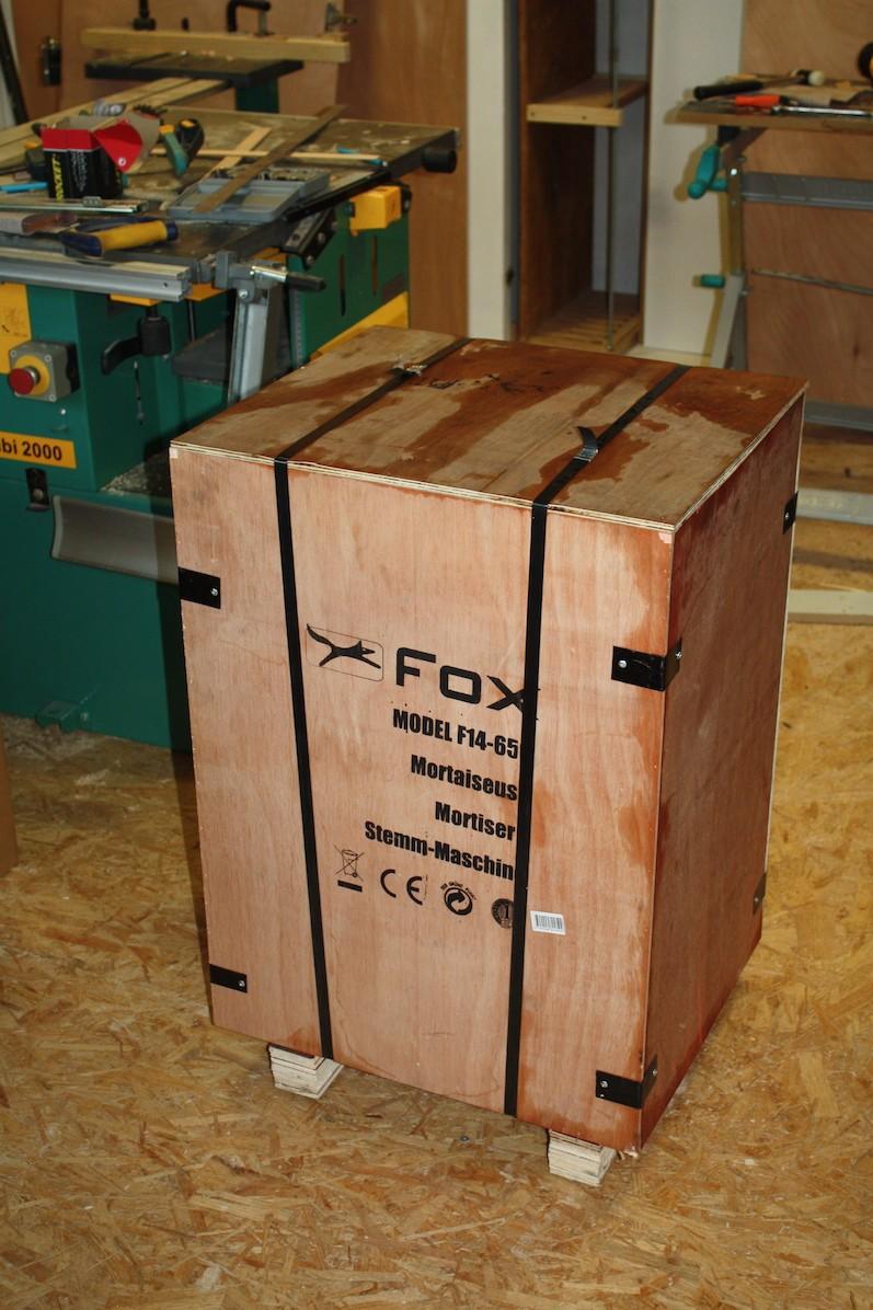 Mortaiseuse à bedane carrée Fox F14-656 Img_4910