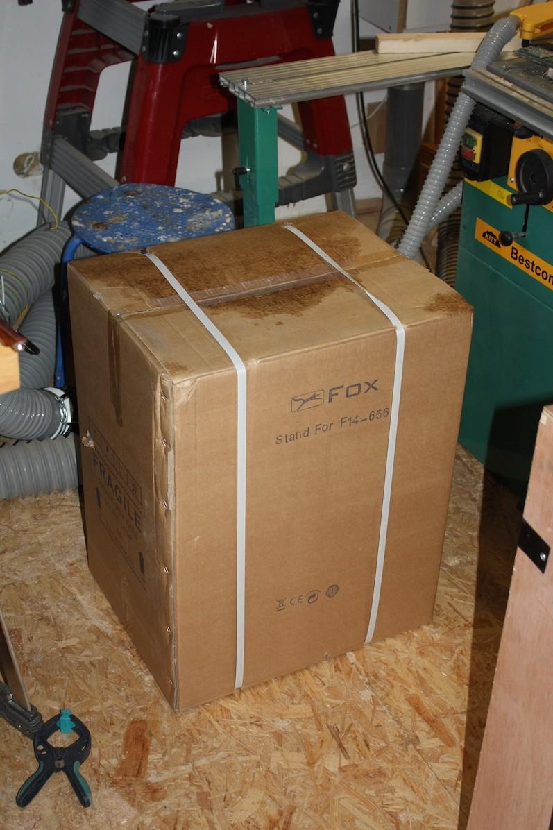 Mortaiseuse à bedane carrée Fox F14-656 Img_4911