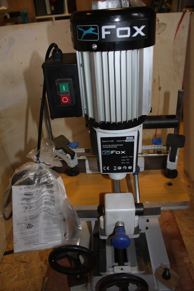 Mortaiseuse à bedane carrée Fox F14-656 Img_4915