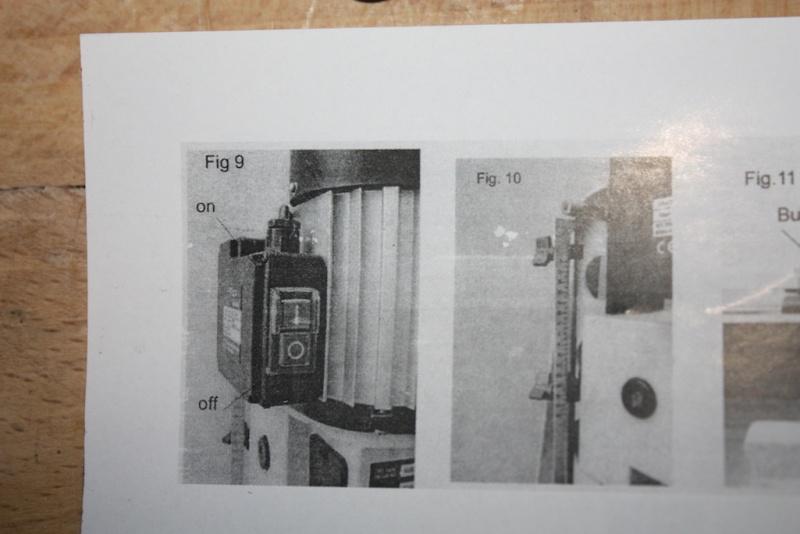 Mortaiseuse à bedane carrée Fox F14-656 Img_5014