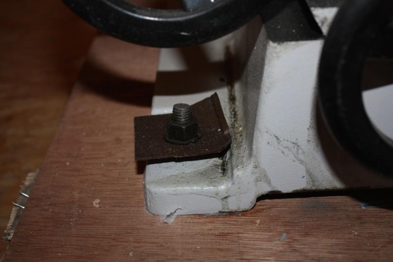 Mortaiseuse à bedane carrée Fox F14-656 Img_5015
