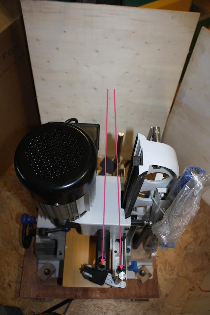 Mortaiseuse à bedane carrée Fox F14-656 Img_5024
