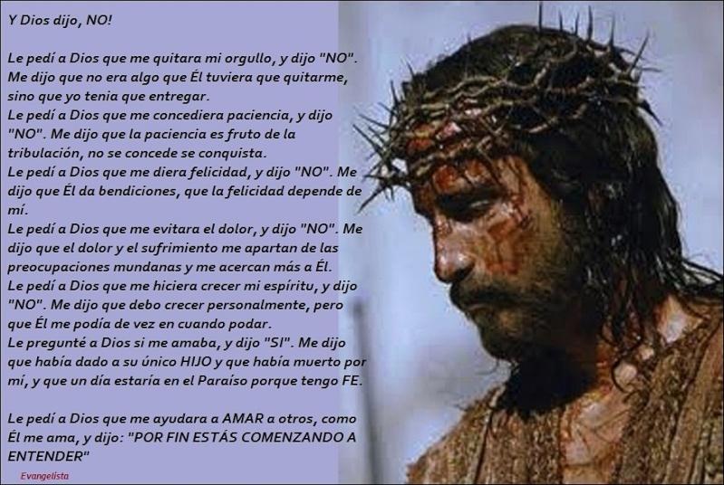 Y DIOS dijo : NO Jesus-10