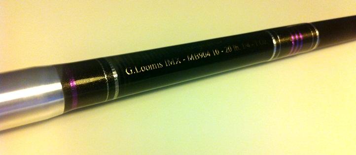 """[SPIN] G. Loomis IMX 7'6"""" MONOPEZZO 1/4 - 1 Oz - componentistica Matagi - Fuji 1110"""