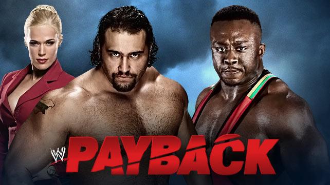 WWE Payback du 1er juin 2014 20140512