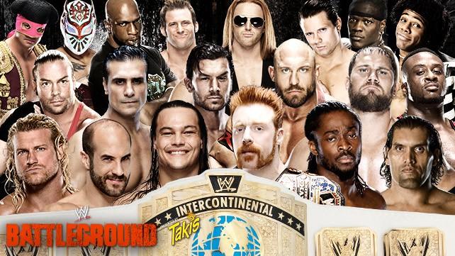WWE Battleground du 20 juillet 2014 20140721