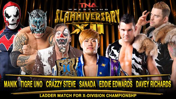 TNA Slammiversary XII du 15/06/2014 Slamm411