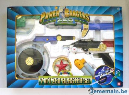 jouets Power Rangers Zeo 19969510