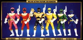 jouets Power Rangers Zeo Prz-to10