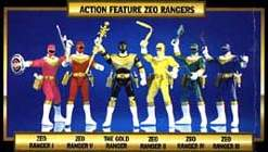 jouets Power Rangers Zeo Prz-to11