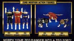 jouets Power Rangers Zeo Prz-to12