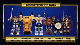 jouets Power Rangers Zeo Prz-to14
