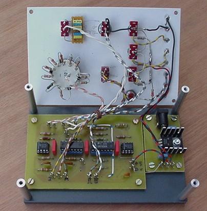 genérateur d' impulsions pour test de drivers de moteurs pas a pas Pulser11