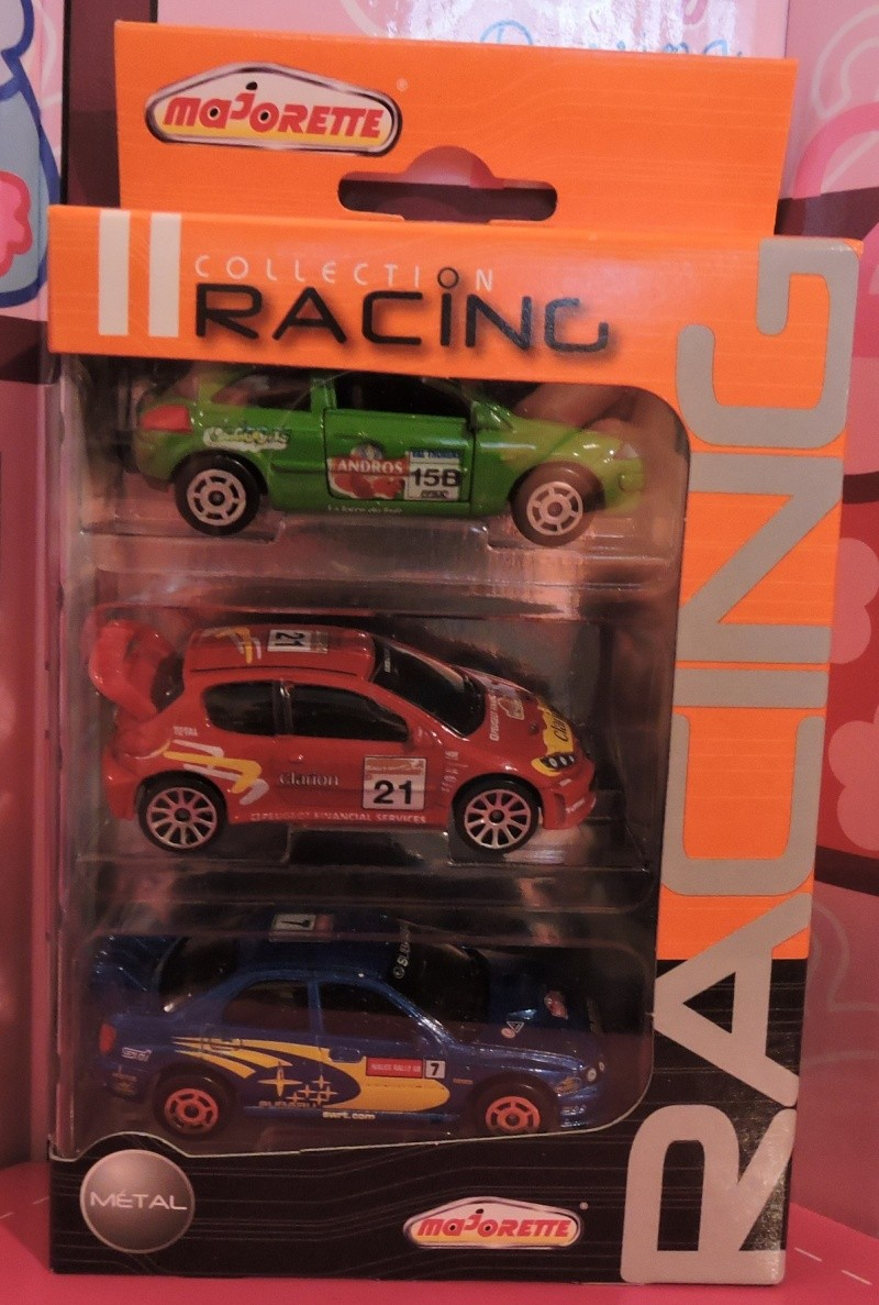 Packs 3 voitures Racing Cars. Collec11