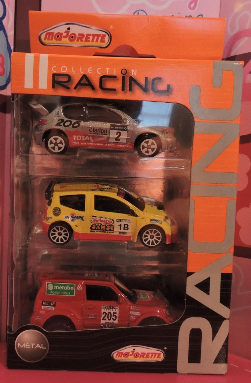 Packs 3 voitures Racing Cars. Collec12
