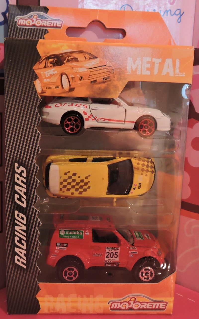 Packs 3 voitures Racing Cars. Racing10